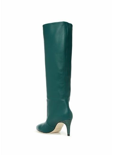 Paris Çizme Yeşil
